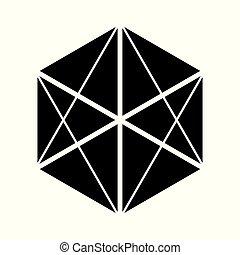 Elementos de icono del símbolo libres del vector de fondo blanco