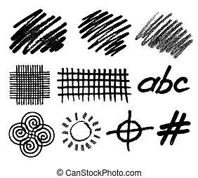 Elementos de vectores geométricos de origen abstracto