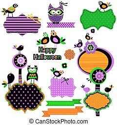 Elementos divertidos de Halloween