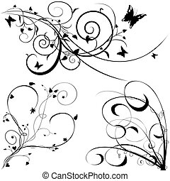 Elementos florales C