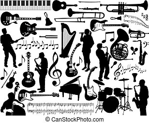 Elementos musicales.