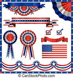 Elementos patriotas americanos
