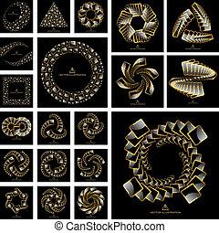 Elementos Swirl para el diseño