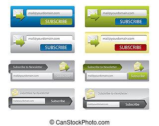 Elementos Web para sitios web