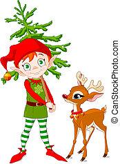 Elf y Rodolfo