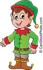 Elfo de Navidad 1