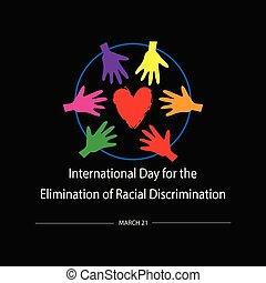 eliminación, internacional, 21, racial, marzo, discrimination., día