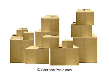 embalaje, cajas