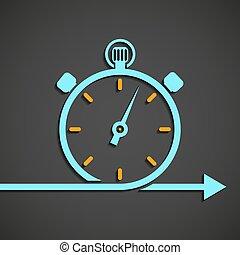 Emblema del cronómetro