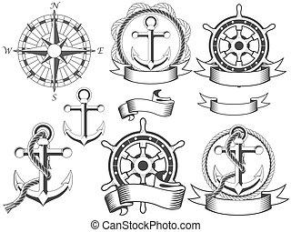 emblemas náuticos