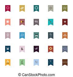 Emblemas y elementos para el diseño