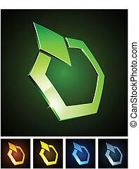 emblems., color, vibrante