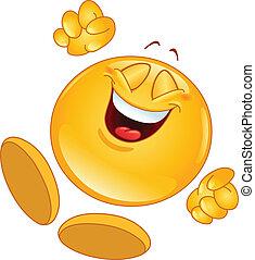 Emoticon alegre
