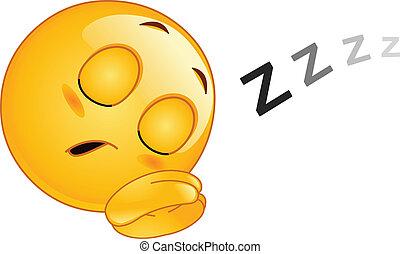 Emoticon dormido