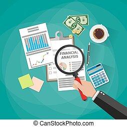 empresa / negocio, análisis, planificación, informe, financiero