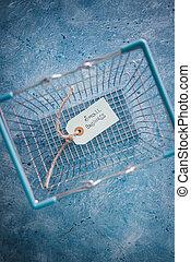 empresa / negocio, compras, negocios, secundario, pequeño, local, etiquetas, cliente, texto, producto, cesta