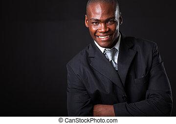 Empresario afroamericano