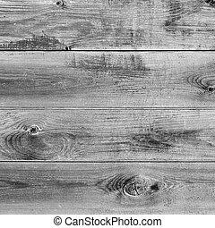 En blanco y negro fondo de madera de granero