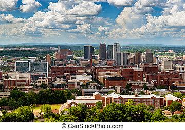 En el centro de Birmingham, Alabama, de Vulcan Park