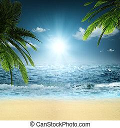 En el océano. Abstrae los antecedentes naturales para tu diseño