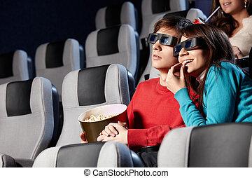 En un cine