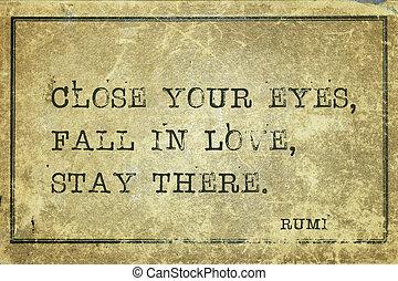 Enamórate Rumi