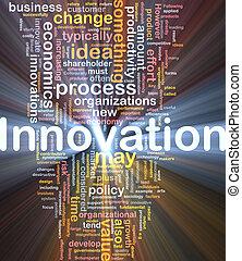 encendido, concepto, empresa / negocio, plano de fondo, innovación