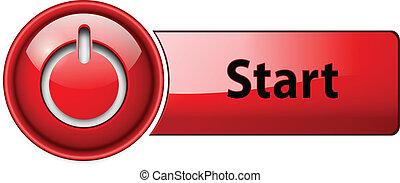 Enciende el botón de icono.