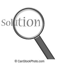 Encontrar una solución