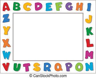 Encuadre alfabeto