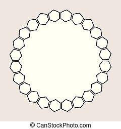 Encuadre blanco y negro