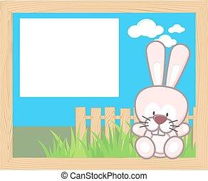 Encuadre de conejo