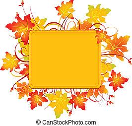 Encuadre de otoño