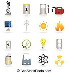 Energía alternativa limpia y medio ambiente