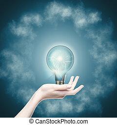 Energía pura. Abstraer energía y antecedentes tecnológicos