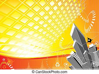 Energía solar de la ciudad