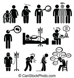 Enfermedades comunes y enfermedades