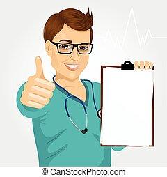 Enfermera, doctora, atención médica y medicina