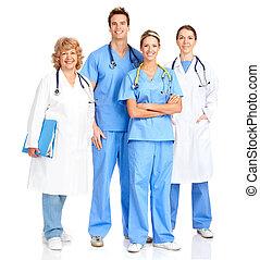 Enfermera médica sonriente