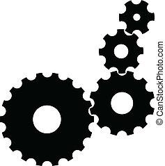 Engranajes Vector