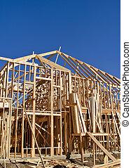 Enmarcando la nueva construcción casera