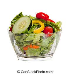 Ensalada con varias verduras