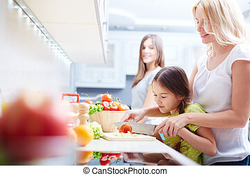 Ensalada de cocina