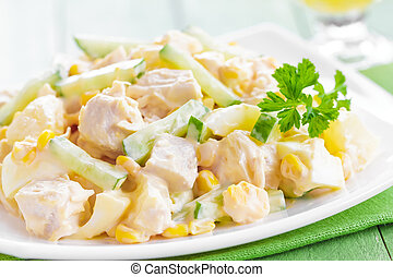 Ensalada de pollo