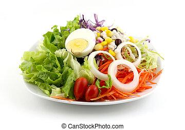 Ensalada de verduras mixta