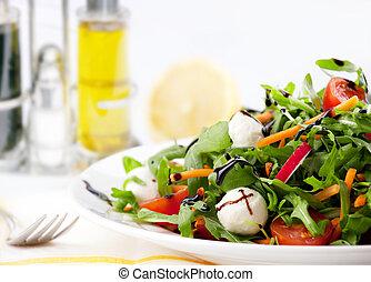 ensalada mezclada, verde