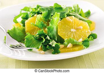 Ensalada naranja