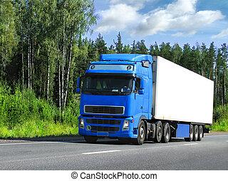 Entrega de camiones