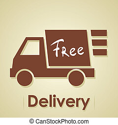 Entrega gratis de camión.