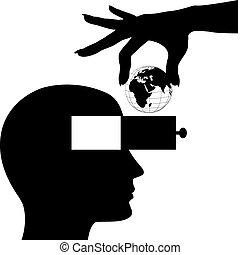 Entregar el mundo en un cajón de mentes abiertas